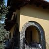 Sistema Termocappotto Marcotherm (Colorificio San Marco) presso abitazione privata in località Torre Pellice (TO).