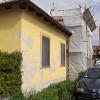 Sistema di pitturazione Acrilsilossanico Acrysil Riempitivo (Colorificio San Marco) per esterni impregnazione travatura legno Xilocrom (Milesi) presso abitazione privata Stradale Fenestrelle in località Pinerolo (TO).