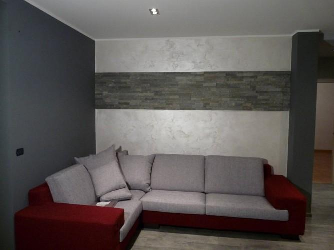 Rasatura completa di tutte le pareti e soffitti con stucco - Pittura decorativa pareti ...