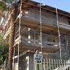 Sistema d'isolamento termico a cappotto Marcotherm (Colorificio San Marco)classificazione energetica A+ lastre eps grafitato spessore cm 14 presso abitazione privata in località Bricherasio (TO).