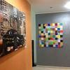 Sistema decorativo Cadoro (Colorificio San Marco) presso abitazione privata a Dubai Emirati Arabi.