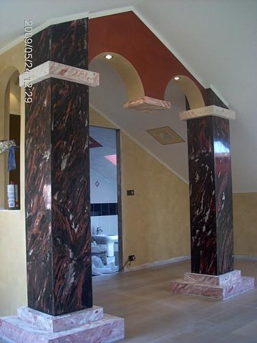 Sistema decorativo stucco veneziano colorificio san marco - Stucco decorativo per pareti ...