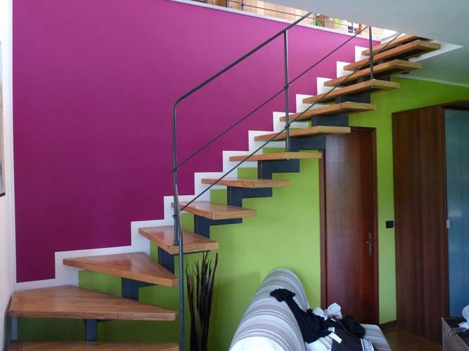 Pitturazione all'interno su pareti con pittura uno superlavabile ...